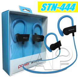 Wholesale Ear Apple Huawei - Bluetooth Earphones Stereo Headset For Iphone7 Earbuds STN-444 For Iphone Xiaomi Android Huawei Lenovo Samsung Galaxy S7 With Retali Package