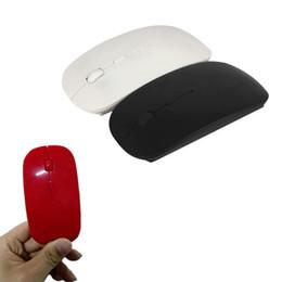 Super mouse para pc on-line-Alta Qualidade Mini 2.4G Mouse Sem Fio + 10 m Distância De Trabalho + Super Slim Mouse Para PC Laptop CAS_448
