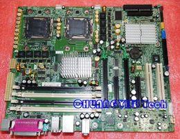 Server cpu della scheda madre online-Scheda dell'apparecchiatura industriale per la scheda madre del server XW6400 WS, 442029-001 380689-003, dual 771 CPU, lavoro perfetto