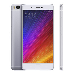 "Wholesale xiaomi android qwerty - Original Xiaomi Mi5s Mi 5s 4G LTE Mobile Phone Snapdragon 821 Quad Core 3GB RAM 64GB ROM 5.15"" 2.5D Glass 12.0MP NFC Fingerprint Cell Phone"