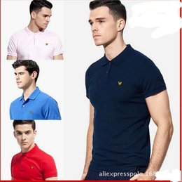 Wholesale T Shirt French Men - 2017 New Fashion French Brand Clothing Spring and Summer Polo Shirt Printed Men's Short Sleeve Lapel Men's T-shirt