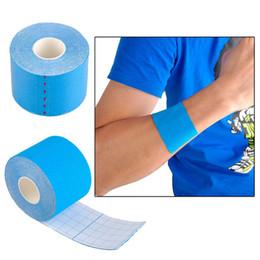 Wholesale Adhesive Elastic Bandage - Muscle Tape Sports Tape Kinesiology Tape Cotton Elastic Adhesive Muscle Bandage Care Physio Strain Injury Support