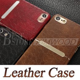 Wholesale Iphone Fashion Retail - HOCAR Ultra Thin Leather Case Luxury Fashion Shock Proof Back Cover Top Quality Cases For iPhone 7 7 Plus with Retail Package