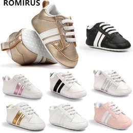 милые осенние туфли Скидка Wholesale- 2017 ROMIRUS New hot sell Soft Bottom Fashion Sneakers Baby Boys Girls First Walkers Baby Indoor Non-slop Toddler Shoes