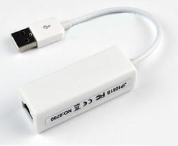 2018 adaptador pc rca NUEVO USB a RJ45 USB 2.0 a Ethernet de alta velocidad Adaptador LAN Tarjeta 10/100 Adaptador para PC \ windows7 Adaptador LAN para computadora portátil rebajas adaptador pc rca