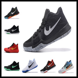 Wholesale Drop Ship Children - Kyrie 3 kids shoes for sale wholesale Kyrie Irving Children sneakers With Box Drop Shipping size 36-40