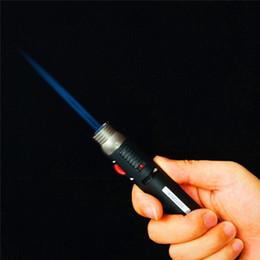 Soldadura de chama on-line-Venda quente ao ar livre Isqueiro 1300degree Torch Oxicorte Gás Butano Recarregável Combustível Caneta de Solda De Solda Frete grátis YKS031
