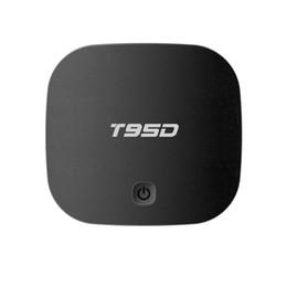 Wholesale Quad Core 1gb Ram Hd - T95D Android TV Box Rockchip RK3229 Quad Core Android 6.0 TV Box RAM 1GB 2GB DDR3 ROM 8GB Miracast HD Smart TV Media Player