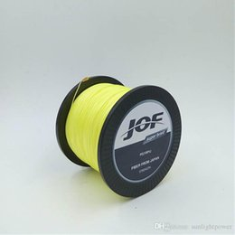 Wholesale Meters Boat - 500M Fishing Super Strong Japan Multifilament PE Braided Line 8 Strands 20 30 40 50 60 80 LB