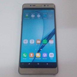 Wholesale Chinese Smartphone Copies - High Copy 1:1 Note8 Edge 3G Smartphone 5.5 Inch HD 1280*720 Quad Core 1GB RAM 8GB ROM 2300mAh 8MP 2pcs DHL