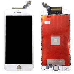 Wholesale Display Touch Digitizer Back Cover - New LCD Display Screen with Digitizer Touch Assembly with 3D And back cover Replacement for iphone 6s 6s plus free shipping