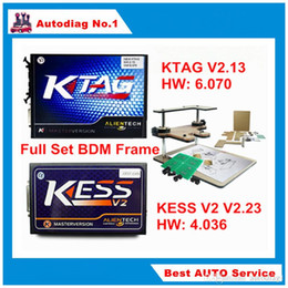 Wholesale Land Rover Frame - Full Set BDM FRAME + KESS V2.30 + KTAG V2.13 Master KESS V2 V4.036 K-TAG K TAG V6.070 OBDII Manager ECU Tuning Kit No Tokens