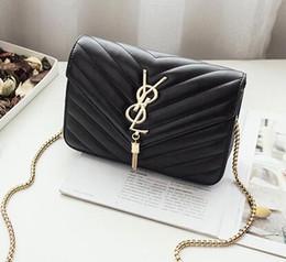 Wholesale Acrylic Chains - high quality 2017 handbag genuine leather handbags women bags o bag designer women messenger bags with chains bolsas femininas