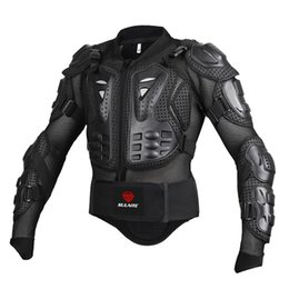 Wholesale Red Body Armor - Black RED Motorcycles Armor Protection Motocross Clothing Jacket Protector Moto Cross Back Armor Protector Protection Jackets