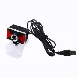 Wholesale Usb Microphone Clip - 12M Pixels Clip-on Webcam Web Camera HD 360 Degree Rotating Stand Auto Focus Built-in Microphone