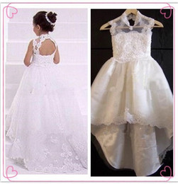 Wholesale Christmas Birthday Cake Images - 2017 New Products Sell Like Hot Cakes Wholesale High Beauty A Sexy Lace Neck Without Back Of A Chair Birthday Girl Dresses