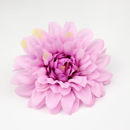 Wholesale Shoes Artificial Flowers - Bloom Daisy Artificial Flower For Wedding Marriage Party Home Room Shoes Hats Decoration Silk Artificial Flower Wholesale.