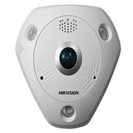 Wholesale Hikvision Ip Cameras - Hikvision 6MP 3072x2048 English 360 degree panoramic view fisheye IP Network Camera DS-2CD6362F-IVS Vadalproof IP67 Outdoor