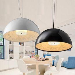 Wholesale Modern Hall Table - FLOS Italy Chandeliers Ceiling Pendant Lamp Skygarden Restaurant Bar Table Lamps European Style Fashion Simple Pendant Light 40cm 60cm 90cm