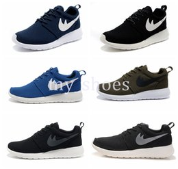Wholesale Classical Nude - 2017 London Olympic Trainers Running Shoes Sport Classical Black White Blue Fashion Mens Women Sport Run Shoes Runs Sneakers Boost 36-45
