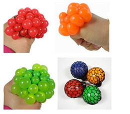 Wholesale Play Health - Wholesale- Novelty Toys Balls Grape Antistress Gadget Reliever Ball Autism Mood Squeeze Relief in Health play a trick haloween jokes