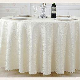 Wholesale Circular Table - Multicolor Circular Jacquard Cloth Luxury Wedding Decorations Textiles Tablecloth Table cloth Home Textile Tablecloth Party Decoration