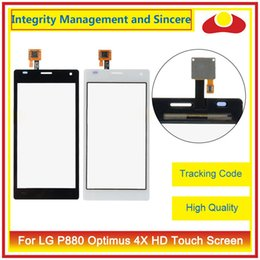 "Wholesale Lg Optimus 4x - High Quality 4.7"" For LG P880 Optimus 4X HD P880G Touch Screen Digitizer Outer Glass Lens Panel"