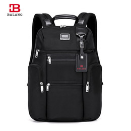 Wholesale Laptops 14 - Wholesale- 2017 BALANG Designers Brand High Quality Oxford Waterproof Men Travel 14 15.6 Laptop Backpack Unisex Casual College Luggage Bags