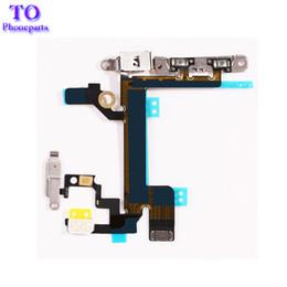 Canada Bouton d'alimentation pour bouton de volume et bouton de mise en sourdine avec support en métal pour iPhone 5 5G 5C 5S Offre