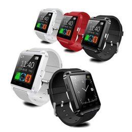 Usa beachten online-USA geben Verschiffen frei Bluetooth Smartwatch U8 Uhr-intelligente Uhr-Armbanduhren für iPhone 6 6s Samsung S4 S5 Anmerkung 2 Anmerkung 3 Android-Telefon