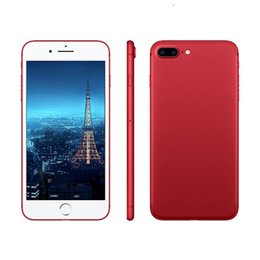 """Wholesale Email Cellphone - Goophone I7 Plus 5.5"""" MTK6753 Octa Core Android 1920*1080 Real 4GB+32GB Real 4G lte Fingerprint 15MP+8MP Unlocked Cellphone"""