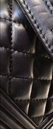 Wholesale Designer Leather Cowhide Handbags - Women Fashion genuine Leather Famous Designer woman Shoulder Bag Cowhide Genuine Leather Handbags 25cm silver gold chain