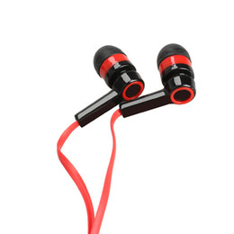 Wholesale Braided Ear - 3.5mm In-Ear MP3 MP4 Wiring Subwoofer Headset Ear Braided Rope Wire Cloth Rope Earplug Noise Isolating Earphone  light new style