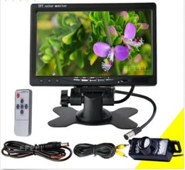 """Wholesale Nightvision Car Camera - Car Rearview monitor rearview backup camera system 7"""" TFT LCD Screen Nightvision"""