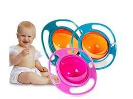 Wholesale Baby Spill Rotating Bowl - Baby Creative 360 Rotate Spill-proof Gyro Feeding Bowl Baby Accesories