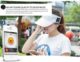 Wholesale Smart Casual Men Winter - Summer wireless Bluetooth Music Hat Smart Sun Hat Outdoor Sports Stereo Music Headset with Speaker Bluetooth Cap Hat for phone
