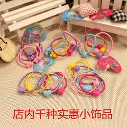 Wholesale Tires Wholesale Manufacturers - The new mickey children hair bands Tire elastic rope rubber band Han edition manufacturers wholesale