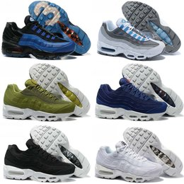 Wholesale Cushion Famous - 2017 new Drop Shipping Famous Air Cushion 95 Men Kids Athletic Shoes Baby, Kids Athletic shoes