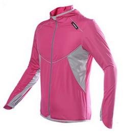 Wholesale Running Softshell Jacket - Cycling Jersey Bike Bicycle spring jackets and coats Running Long Sleeves Quick Dry Cycling Clothing Shirts 5pcs DHL Fedex