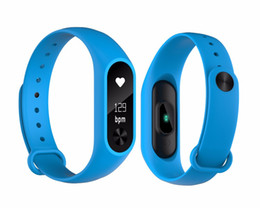 xiaomi m2s Promo Codes - Wholesale- New hot Heart rate monitoring smart band M2S Waterproof IP67 sms call reminder For IOS Android xiaomi phone