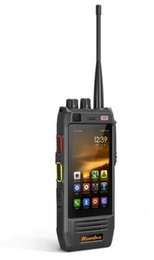 Wholesale Two Radios - Original new Runbo H1 Andriod 5.1 quad core Waterproof IP67 Rugged 3G 4G Lte rugged smartphone Two Way Radio PTT Walkie Talkie