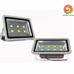 Wholesale fixture canopy - Newest 300W 400W led flood light outdoor lamp AC 110-277V led canopy lights waterproof led floodlights fixture lamp+3 years Warranty