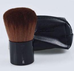 Wholesale Make Up Equipment - M182# single bottom cover brush, beauty cosmetic tool, blush brush belt bag, professional make-up equipment, cosmetic brush