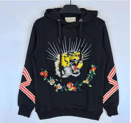 Wholesale Black Family Letters - family palace sweater Manskateboard hoodies Kanye West damage thicker cotton hooded sweater men women