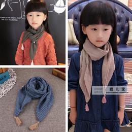 Wholesale Korean Scarf Price - Factory Price New Children Little Cotton Scarf Hanging Boys And Girls Korean Version Wrap Shawl scarves fashion stole