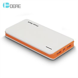 Wholesale Battery Charger For Ipad - 10000mAh Power Bank Dual USB Output Mobile Phone Portable Charger External Battery For iPhone 7 6s Plus iPad Xiaomi Huawei Samsung Galaxy s8