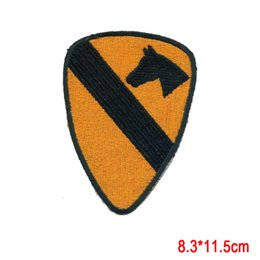 Wholesale Wholesale Vietnam - US Army Vietnam Era 1st Cavalry Color Patch Cut Edge