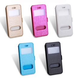 Luxo ultra-fino vista da janela cinta saco do telefone com suporte flip case capa para iphone 7 7 plus 6g 6 s plus 5g 5s se de Fornecedores de iphone 6g fino