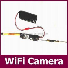 Wholesale Hidden Cctv Video Camera Dvr - High Quality WIFI Mini Camera Module Remote control Camcorder IP P2P CCTV Camera Full HD 1080P Hidden DVR Mini DV Video Recoder