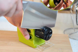 Wholesale Knife Sharpener Free Shipping - Professiona versatile electric sharpener, Home kitchen Electric Grinding Tool,Motorized Knife Sharpener Swifty Sharp Tool,free shipping